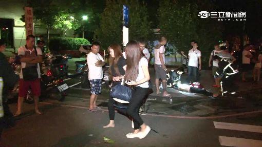 """休旅車超載""""1男7女"""" 撞酒駕車釀9傷"""