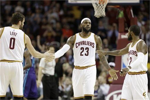 NBA,克里夫蘭騎士隊,三巨頭,James(圖/美聯社/達志影像)