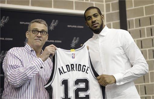NBA,LaMarcus Aldridge(圖/美聯社/達志影像)