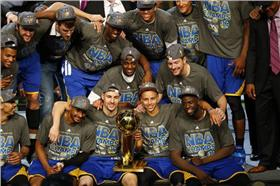 NBA總冠軍,金州勇士(圖/美聯社/達志影像)