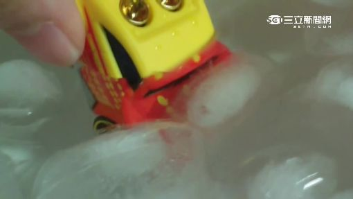 瘋狂潑水! 超炫車膜冷熱水不同色