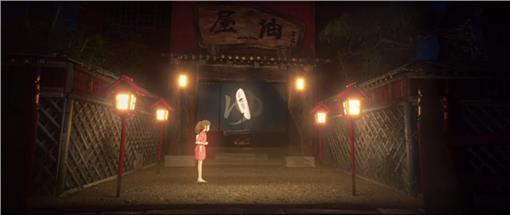 向宮崎駿致敬影片截圖
