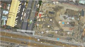 京站空拍圖-google地圖