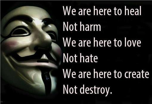 駭客、匿名者、亞洲、Anonymous Asia(圖/翻攝自Anonymous Asia臉書)