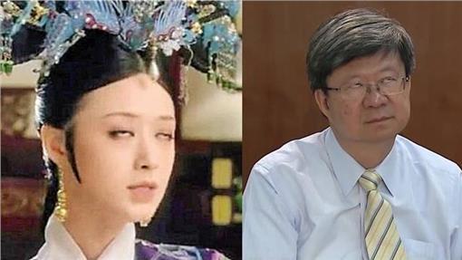 吳思華,教育部長,翻白眼,對談,學生 合成圖/資料照、翻攝自百度百科