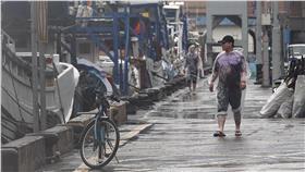 颱風,大雨,暴雨-(圖/達志影像/路透社)