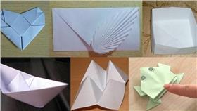 折紙,童年,紙船,青蛙,東西南北,愛心,紙盒 圖/翻攝自百度百科