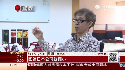 Tokyo D團長BOSS 藝人轉型貿易商