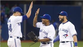 MLB/多倫多藍鳥隊Blue Jays(圖/美聯社/達志影像)