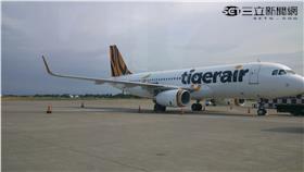 台灣虎航TigerAir,飛機(翁堃泰攝影)