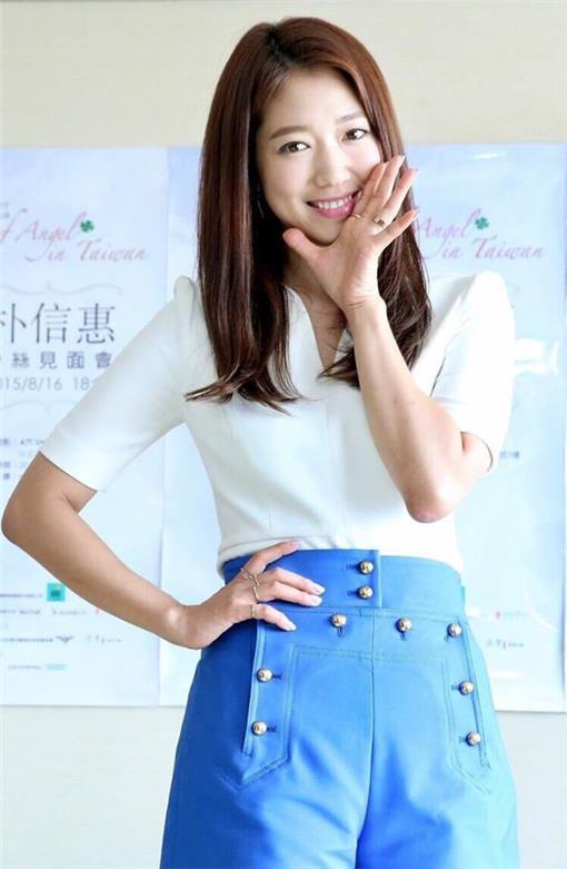 朴信惠/翻攝自朴信惠台灣首站 Park Shin Hye Taiwan First Fans Club臉書