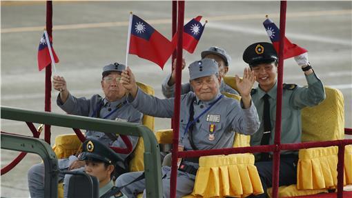 中華民國抗戰紀念閱兵(圖/美聯社/達志影像)
