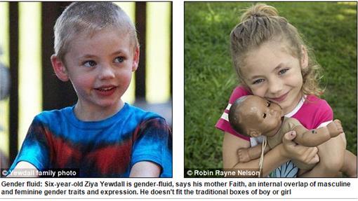 性別流動/Dailymail/http://www.dailymail.co.uk/news/article-3070406/I-remember-moment-saw-six-year-old-son-daughter-bouncing-new-blue-girl-s-one-piece-suit-d-fallen-love-Ziya-born-male-identifies-boy-preferences-girl.html
