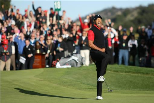 Tiger Woods,高爾夫,老虎伍茲(圖/翻攝自Tiger Woods臉書)