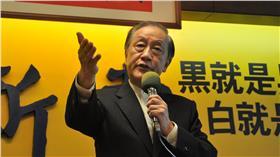 ▲郁慕明宣布,新黨全力支持國民黨。(圖/翻攝自郁慕明臉書)
