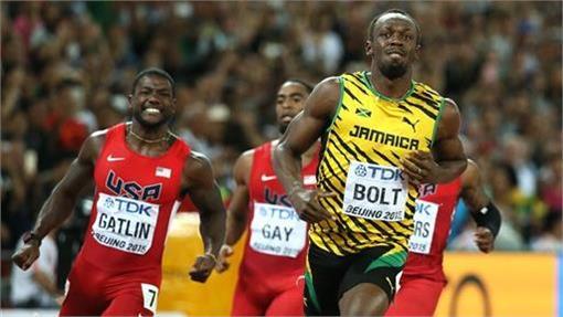 牙買加閃電Usain Bolt(ap)