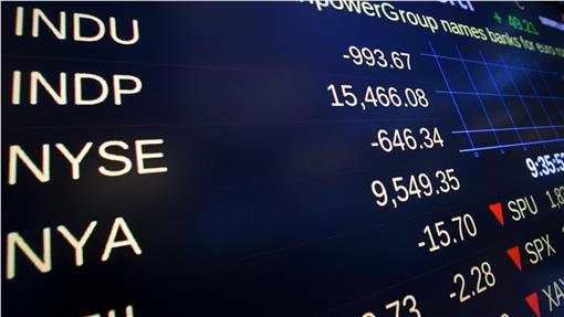黑色星期一,美股,道瓊指數 Dow Jones Industrial Average(圖/路透社/達志影像)