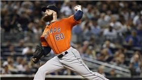 MLB/休士頓太空人隊Dallas Keuchel(圖/美聯社/達志影像)