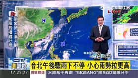 三立準氣象0827/西南氣流登場北移 幾乎全台都有雨