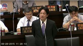 賴清德(圖/翻攝自台南市議會YouTube)
