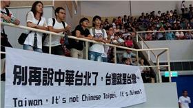 體育,瓊斯盃,顏行書 圖/翻攝自《台灣就是台灣,別再說中華了!》臉書