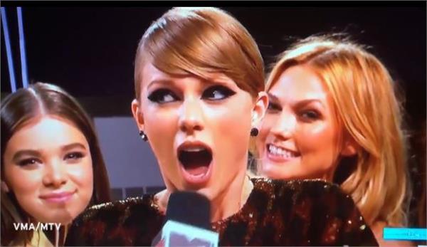 泰勒絲,taylor swift,VMA,放屁 圖/影片截圖