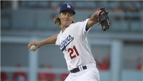 MLB/洛杉磯道奇隊Zack Greinke(圖/美聯社/達志影像)