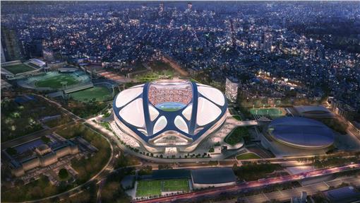 2020東京奧運主場館~新概念登場,砍掉重練!