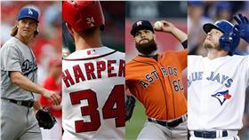 MLB/美、國聯MVP、賽揚獎得主競爭者(圖/美聯社/達志影像)