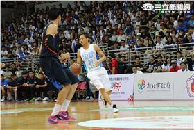 瓊斯盃中華藍對南韓(朱凱弘攝影)