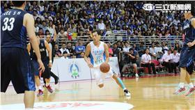 瓊斯盃中華藍對南韓-林志傑(朱凱弘攝影)
