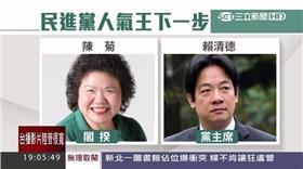 民進黨人氣王下一步,陳菊,賴清德