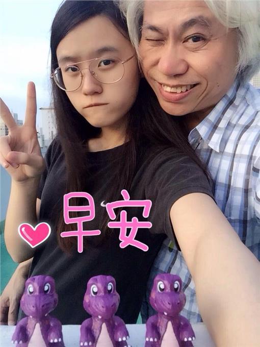 林靖恩 李坤城 翻攝臉書
