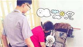 電玩,跳潭,輕生,聖嚴法師,警察 圖/嘉義市警察局第二分局長竹派出所提供