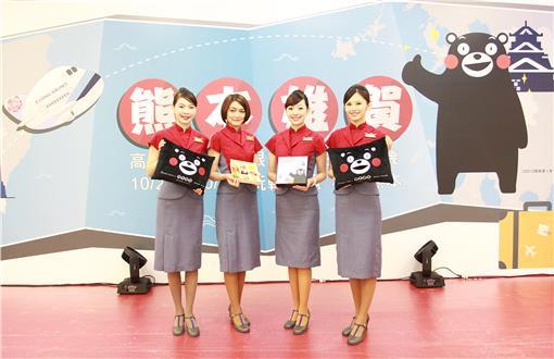 熊本熊KUMAMON「酷Ma萌」主題班機首航-華航新聞稿提供