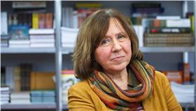 斯維拉娜,Svetlana Alexievich,諾貝爾文學獎(圖/路透社/達志影像)