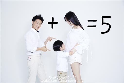 林志穎,老婆,雙胞胎 圖/翻攝自林志穎臉書