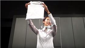 智慧型衣櫃、折衣服/YouTube