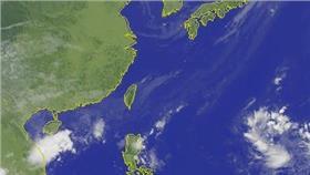 1012衛星雲圖(圖/中央氣象局提供)