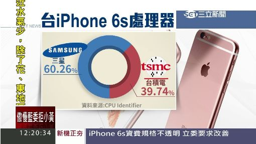 iPhone 6s掀民怨 NCC:得看蘋果政策
