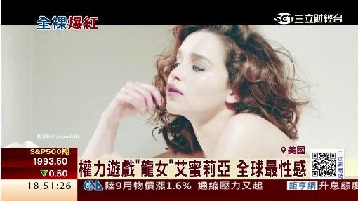 """艾蜜莉亞演活""""龍女"""" 登全球最性感女性"""
