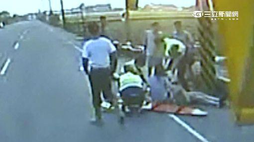 家暴惡男 砍前妻頭濺血續開車追撞