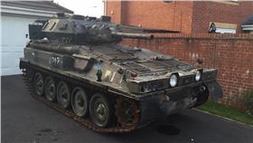 坦克車(圖/翻攝自Jeff Woolmer臉書)