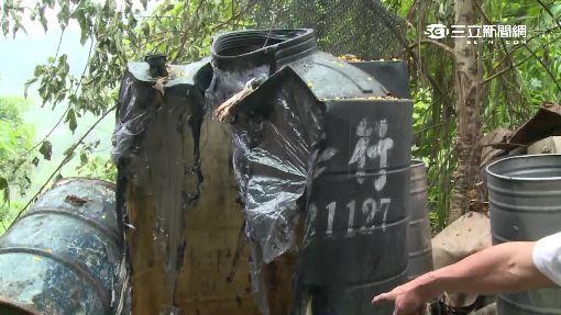 豬圈堆300kg廢餿水油 燒5小時才滅