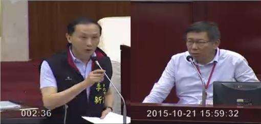 李新、柯文哲/市議會直播