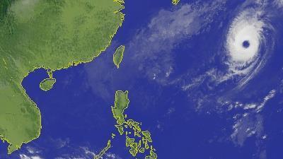 颱風、衛星雲圖/中央氣象局
