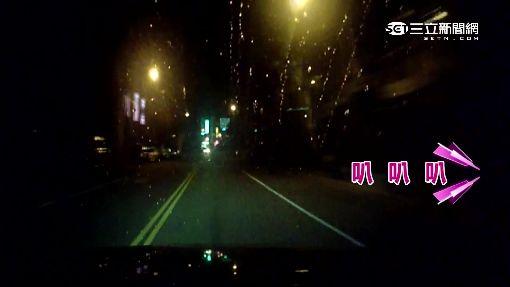 酒駕超速逆向失控 撞警所「自投羅網」