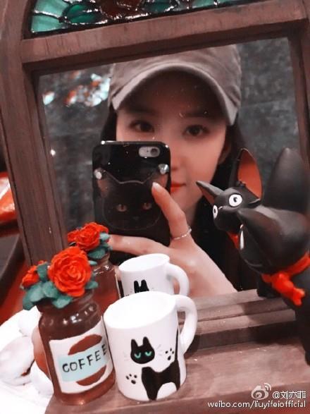 劉亦菲/微博