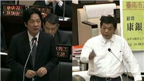 賴清德、盧崑福 圖/翻攝自臺南市議會YouTube