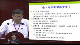 柯文哲,公車,調漲,優惠票,通勤▲圖/翻攝自台北市議會